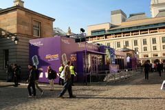Yahoo Yodel studio at Covent Garden Royalty Free Stock Photos