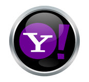 Yahoo-Zeichen Stockfoto