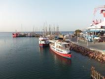 Yaht i Röda havet Fotografering för Bildbyråer