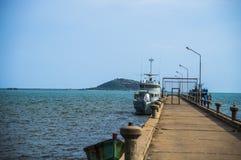 Yaht park at the harbor1 Stock Photos