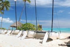Free Yahts On Beach Royalty Free Stock Image - 7695066