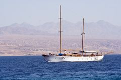 yahts sailing стоковое фото
