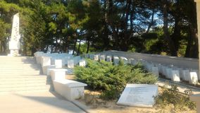 Yahya Sergeant Cemetery and Memorial. Eceabat / Çanakkale stock photos