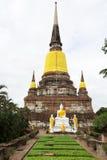 yai της Ταϊλάνδης παγοδών chaimongkol ayutthay Στοκ φωτογραφίες με δικαίωμα ελεύθερης χρήσης