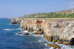 Yailata wild coast, Bulgaria Stock Images