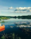Yaiva rzeka Obrazy Stock