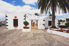 Yaiza Lanzarote Royaltyfri Bild