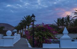 Yaiza, Lanzarote, Kanarische Inseln, Spanien lizenzfreie stockfotografie