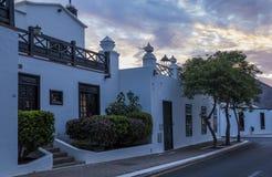 Yaiza, Lanzarote, Kanarische Inseln, Spanien stockbilder