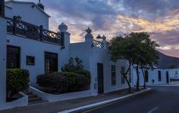 Yaiza, Lanzarote, Kanarische Inseln, Spanien stockbild