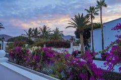 Yaiza, Lanzarote, Kanarische Inseln, Spanien stockfotografie