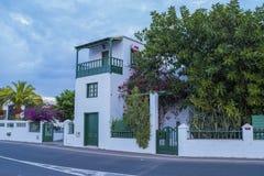 Yaiza, Lanzarote, Kanarische Inseln, Spanien lizenzfreies stockbild