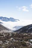 Yajiageng mountain cloudscape. This photo was taken in Yajiageng mountain,Ganzi Prefecture,Sichuan province,china Stock Photos