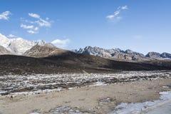 Yajiageng mountain scenery. This photo was taken in Yajiageng mountain,Ganzi Prefecture,Sichuan province,china Royalty Free Stock Photos