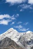 Yajiageng mountain scenery. This photo was taken in Yajiageng mountain,Ganzi Prefecture,Sichuan province,china Stock Photo