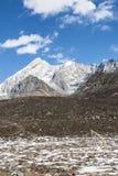 Yajiageng mountain scenery. This photo was taken in Yajiageng mountain,Ganzi Prefecture,Sichuan province,china Royalty Free Stock Photo