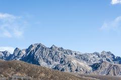 Yajiageng mountain scenery. This photo was taken in Yajiageng mountain,Ganzi Prefecture,Sichuan province,china Stock Photos