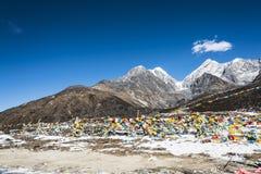 Yajiageng mountain scenery. This photo was taken in Yajiageng mountain,Ganzi Prefecture,Sichuan province,china Stock Photography