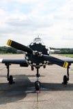 Yak 52 Norbert. Yak 52 called Norbert at Biggin Hill Stock Photos