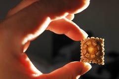 Yak Bone Carving Royalty Free Stock Image