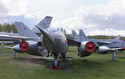 Yak-28-, maximal framdelbombplan (1958) hastighet km/h-1800 Royaltyfri Fotografi