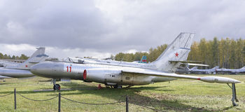 Yak-25r-, Aufklärungsflugzeug (1959) Lizenzfreie Stockfotos