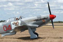 Yak 9 - Russian WWII fighter Royalty Free Stock Images