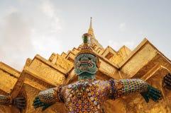 Yak sculpture. At Wat Phra Kaew, Bangkok, Thailand Stock Photography