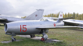 Yak-23-, strålkämpe (1947) Royaltyfri Fotografi