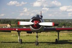 Yak 18T. In an aerodrome Vikhrevo Russia Stock Photography