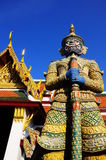 Yak of Wat Phrakaew, Thailand. Wat Phra Kaew is landmark of Bangkok Royalty Free Stock Images