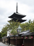 Yakasa shrine pagoda Royalty Free Stock Photo