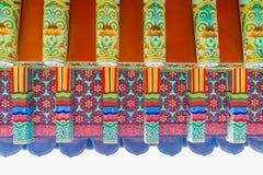 Yakcheonsa Temple in Jeju Island, South Korea. Beautiful architecture at Yakcheonsa Temple in Jeju Island, South Korea Stock Photos