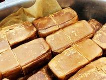 Yakhnuna gned klassisk judisk Yemenite mat Vanligt tjänat som för frukost eller lunch på lördag royaltyfri fotografi
