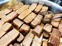 Yakhnuna wreef klassiek Joods Yemenite voedsel Gewoonlijk gediend voor ontbijt of lunch op Zaterdag stock foto's