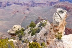 Yaki Point, Grand Canyon Royalty Free Stock Images