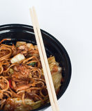 Yaki soba Royalty Free Stock Images