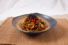 Yaki soba Royalty Free Stock Image
