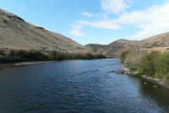 Yakima River Fotografia Stock Libera da Diritti