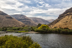 Yakima River Canyon Fotografie Stock