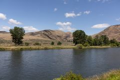Yakima rzeki jar fotografia royalty free