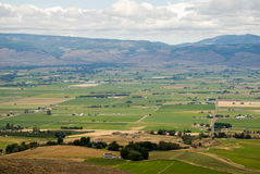 Yakima Valley. View of farming land from lookout view point royalty free stock photos