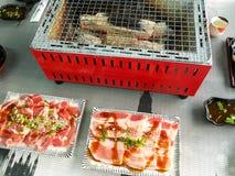 Yakiniku. This yakiniku is japan food Stock Photography