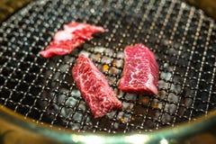 Yakiniku style barbecue beef Stock Images