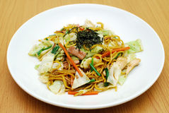 Yakisoba photographie stock