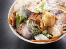 Yakisoba chińczyka jedzenie obrazy stock