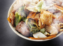 Yakisoba-Chinese-Lebensmittel Stockbilder