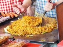 Yakisoba - Japanese fried noodle Stock Photos