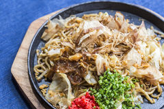 Yakisoba Japanese Noodles Royalty Free Stock Image