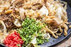 Yakisoba Japanese Noodles Royalty Free Stock Images